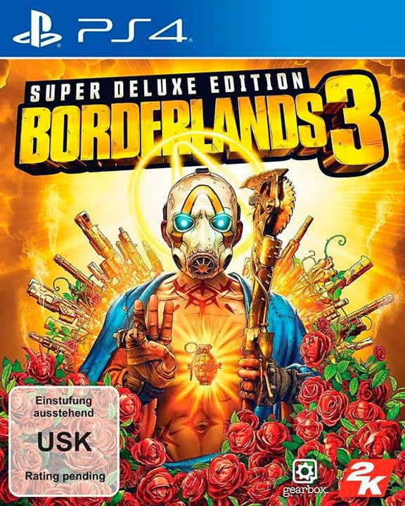 PS4 - Borderlands 3 Super Deluxe Edition Box 785300145702 Langue Allemand Plate-forme Sony PlayStation 4 Photo no. 1
