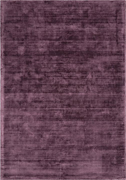 ANETTE Tapis 411975012035 Couleur aubergine Dimensions L: 120.0 cm x P: 170.0 cm Photo no. 1
