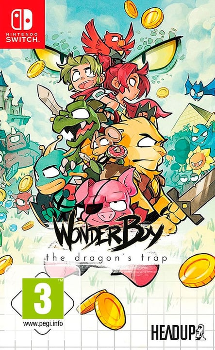 Switch - Wonder Boy: The Dragon's Trap (D) Box 785300132129 Photo no. 1