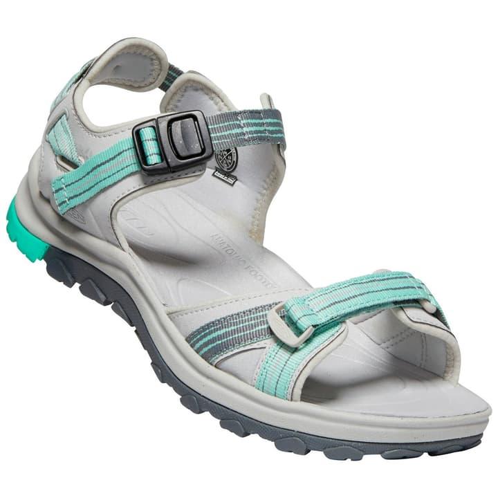 Terradora II Open Toe Sandal Sandales pour femme Keen 493451636081 Couleur gris claire Taille 36 Photo no. 1