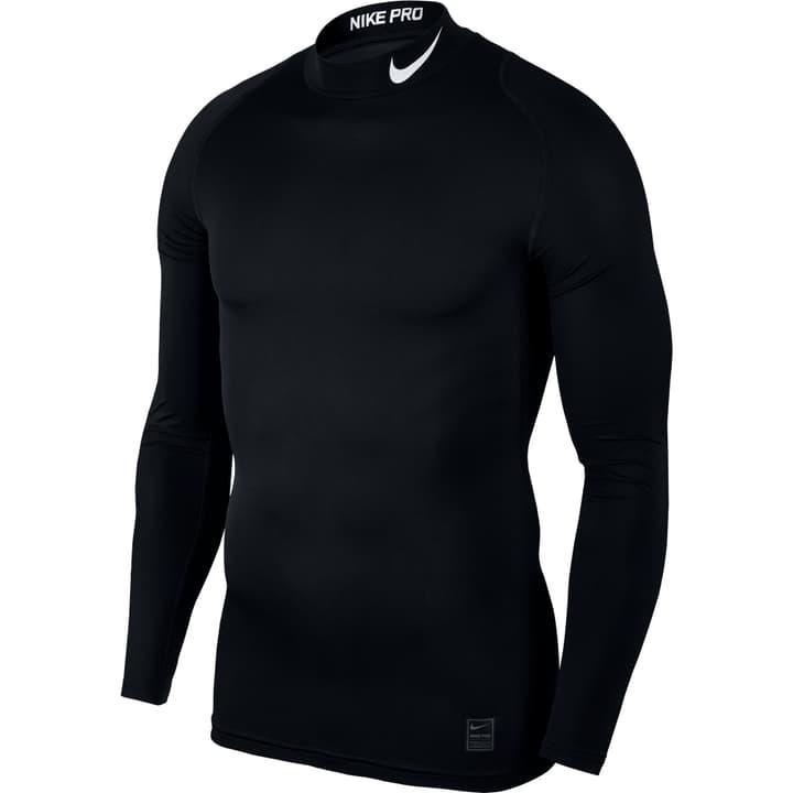 Pro Top Longsleeve Comp Mock Herren-Kompression-Langarmshirt Nike 498279600620 Farbe schwarz Grösse XL Bild-Nr. 1