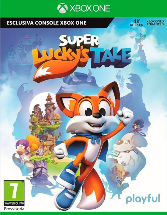 Super Lucky's Tale [XONE] (I) Physisch (Box) 785300129489 Bild Nr. 1
