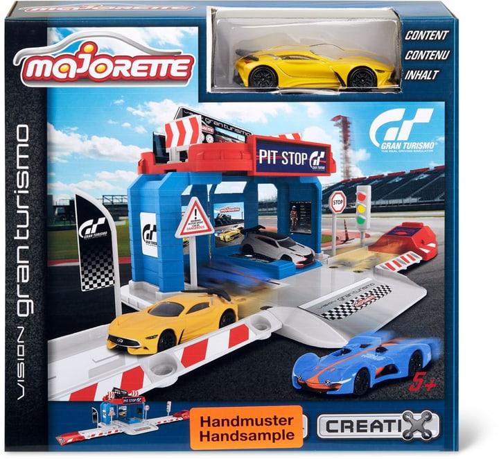 Vision Gran Turismo Pit Stop + 1 Car 746216900000
