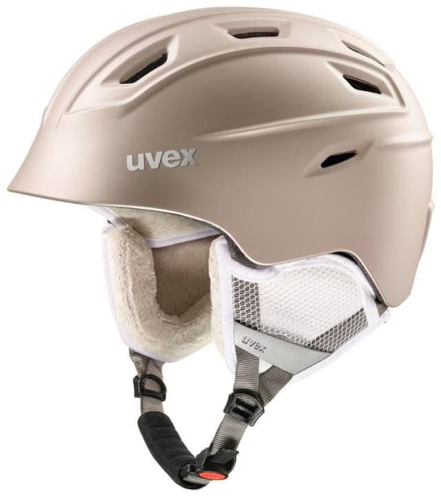 Fierce Casco per sport invernali Uvex 465007755174 Colore beige Taglie 55-59 N. figura 1