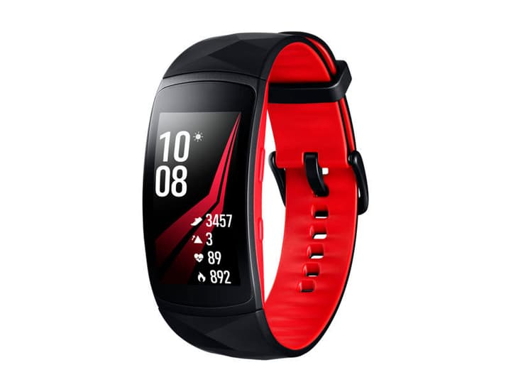Gear Fit2 Pro Rouge Small Samsung 798415400000 Photo no. 1