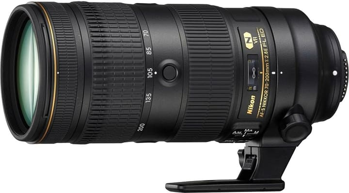 Nikkor AF-S 70-200mm F/2.8E FL ED VR Nikon 793425500000 Photo no. 1