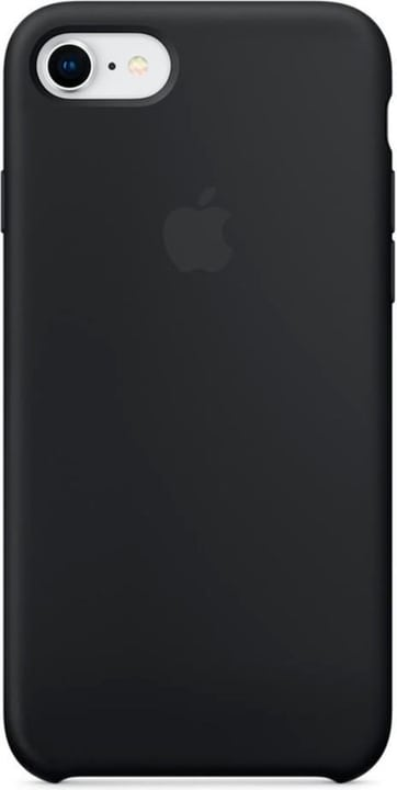 Silicone Case iPhone 8 / 7 Black Hülle Apple 798416800000 Bild Nr. 1