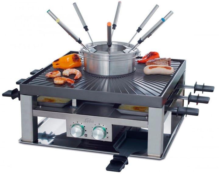 raclette grill mit fondue wohn design. Black Bedroom Furniture Sets. Home Design Ideas