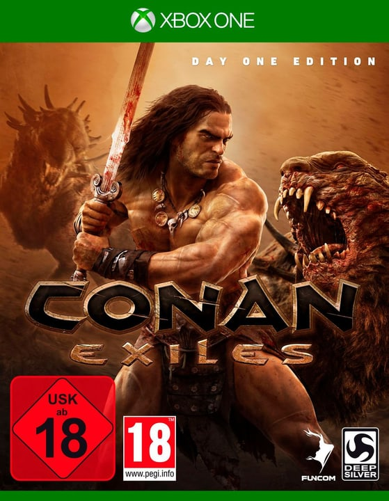 Xbox One - Conan Exiles Day One Edition (F) Box 785300132646 N. figura 1