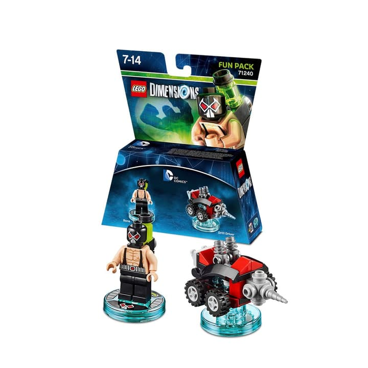 "LEGO Dimensions Fun Pack DC Comics ""Bane"" Physique (Box) 785300119990 Photo no. 1"
