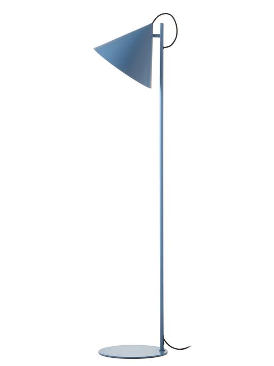 BENJAMIN Stehleuchte 380107300000 Grösse B: 30.0 cm x T: 30.0 cm x H: 142.0 cm Farbe Blau Bild Nr. 1