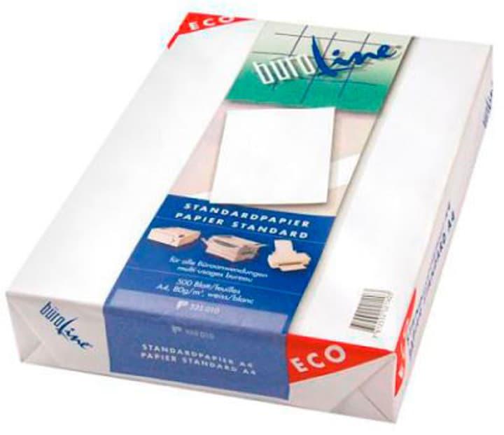 Papier d'impression Eco A4 525010 80g, blanc 500 feuilles Papier d'impression Büroline 785300150618 Photo no. 1