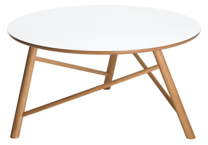 DAHLI Table basse 402131910090 Dimensions L: 90.0 cm x P: 90.0 cm x H: 44.0 cm Couleur Blanc Photo no. 1