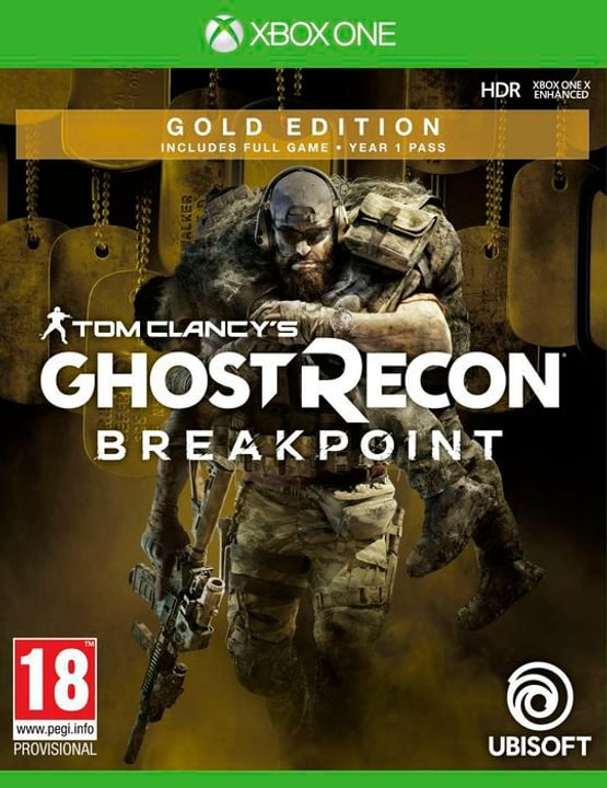 Xbox One - Tom Clancy's Ghost Recon: Breakpoint - Gold Edition Box 785300144492 Photo no. 1