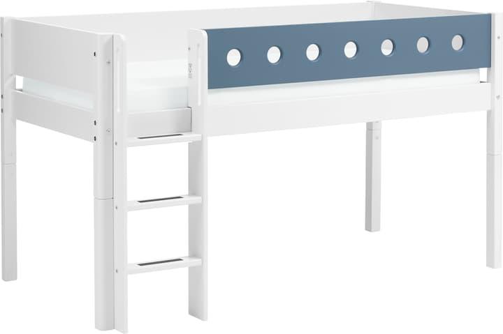 WHITE Halbhochbett Flexa 404998800000 Farbe Blau Grösse B: 109.0 cm x T: 210.0 cm x H: 120.0 cm Bild Nr. 1
