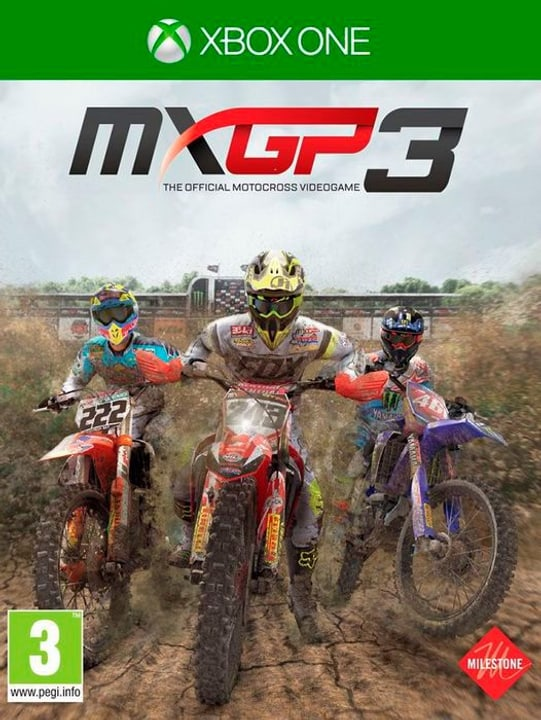 Xbox One - MXGP 3 - The Official Motocross Videogame Box 785300122199 Bild Nr. 1
