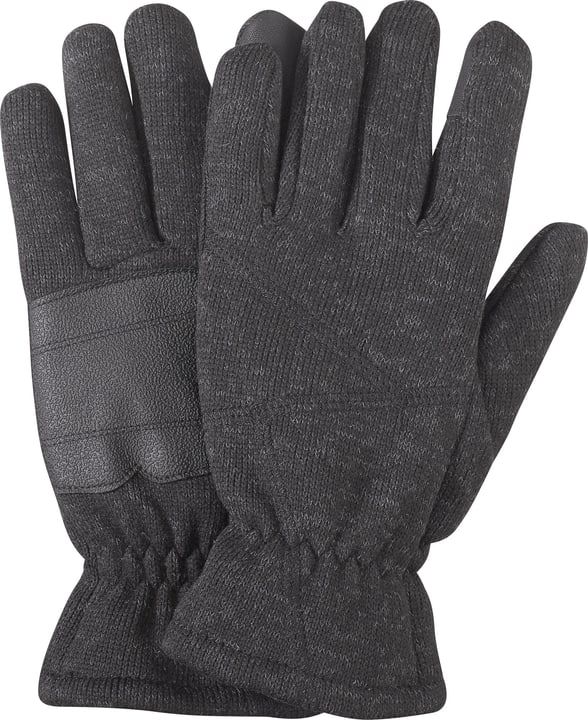 Gants unisexe Trevolution 464412506086 Couleur antracite Taille 6 Photo no. 1
