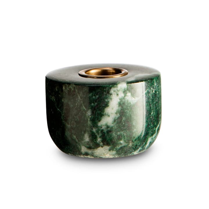MARBLE II bougeoir 396080100000 Dimensions L: 7.0 cm x P: 7.0 cm x H: 5.0 cm Couleur Vert Photo no. 1