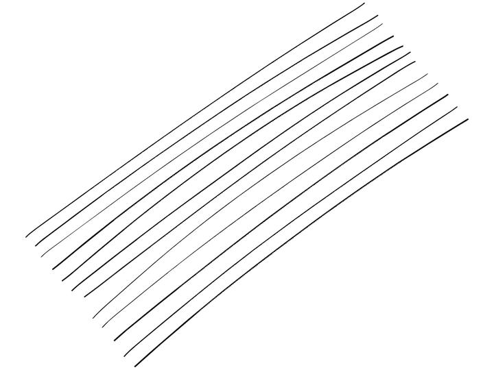 Laubsägeblätter für Metall Nr. 0 Comfort Lux 601221700000 Bild Nr. 1