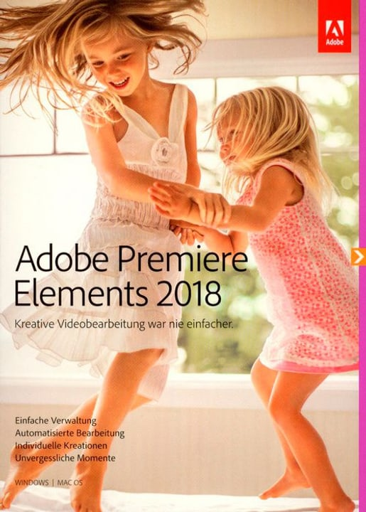 PC/Mac - Premiere Elements 2018 (D) Fisico (Box) Adobe 785300130258 N. figura 1