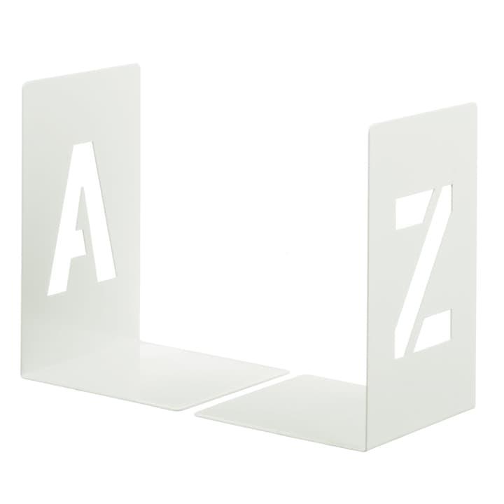 TREND A-Z Serre-livres 440624900003 Couleur Blanc Dimensions L: 12.0 cm x P: 12.0 cm x H: 18.0 cm Photo no. 1