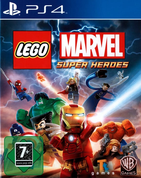 PS4 - LEGO Marvel Super Heroes Box 785300121573 Bild Nr. 1
