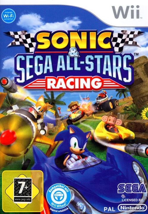Wii - Sonic + Sega All-Stars Racing Physique (Box) 785300129505 Photo no. 1
