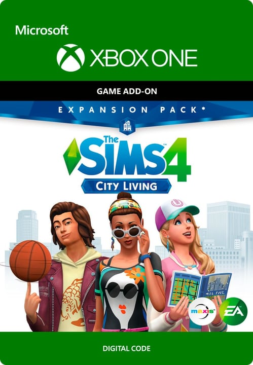 Xbox One - THE SIMS 4: CITY LIVING Download (ESD) 785300136285 Photo no. 1