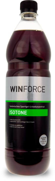 Isotone Bouteille Isotone 1 litre Winforce 471970305393 Goût Grenade-citron Couleur multicolore Photo no. 1