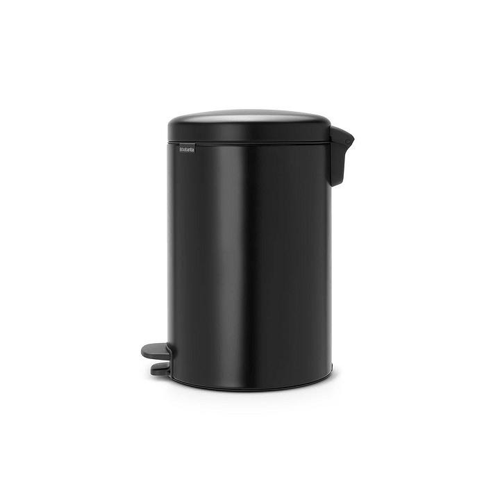 NEWICON poubelle brabantia 386234000000 Dimensions L: 38.0 cm x P: 29.0 cm x H: 46.7 cm Couleur Noir Photo no. 1