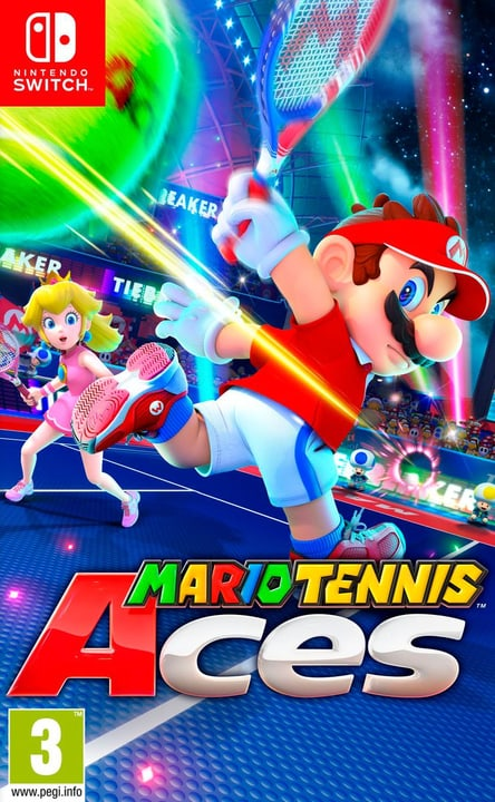 Switch - Mario Tennis Aces (D) Fisico (Box) 785300133194 Lingua Tedesco Piattaforma Nintendo Switch N. figura 1
