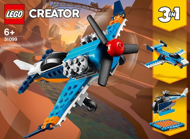 LEGO Creator 31099 L'avion à hélices 748733200000 Photo no. 1