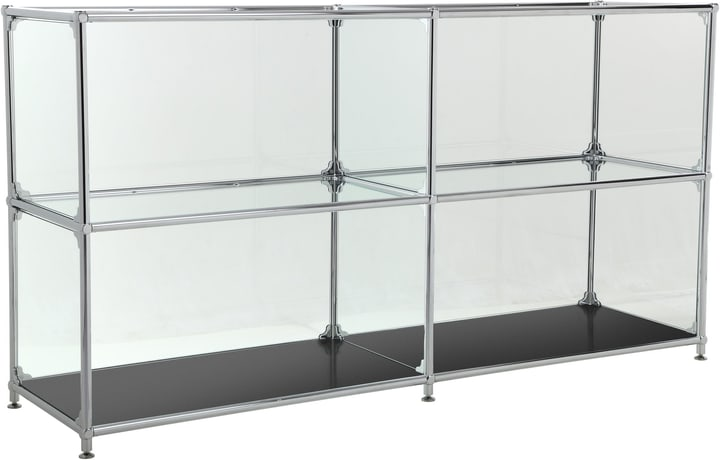 FLEXCUBE Sideboard 401814220220 Grösse B: 152.0 cm x T: 40.0 cm x H: 80.5 cm Farbe Schwarz Bild Nr. 1