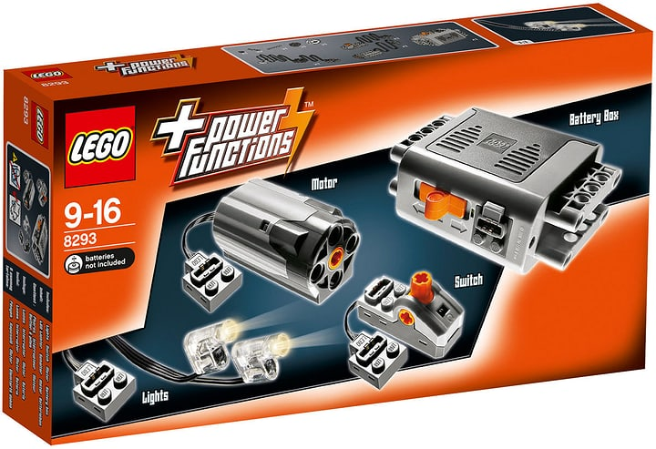 LEGO Technic Power Functions 8293 746826500000 N. figura 1