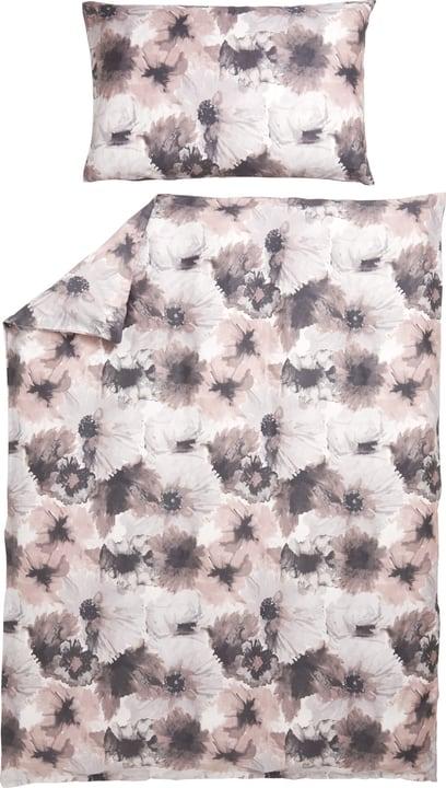MIRENA Federa per cuscino in raso 451293010938 Colore Rosa Dimensioni L: 100.0 cm x A: 65.0 cm N. figura 1