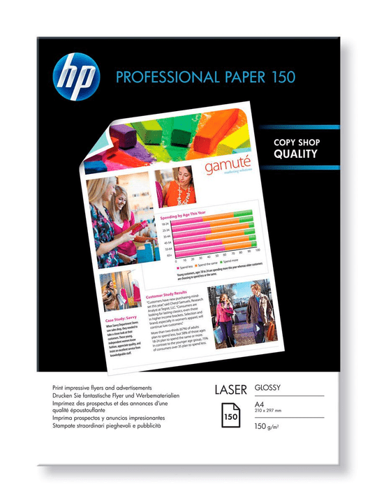 Prof. Laser Paper glossy HP 796032500000 Photo no. 1