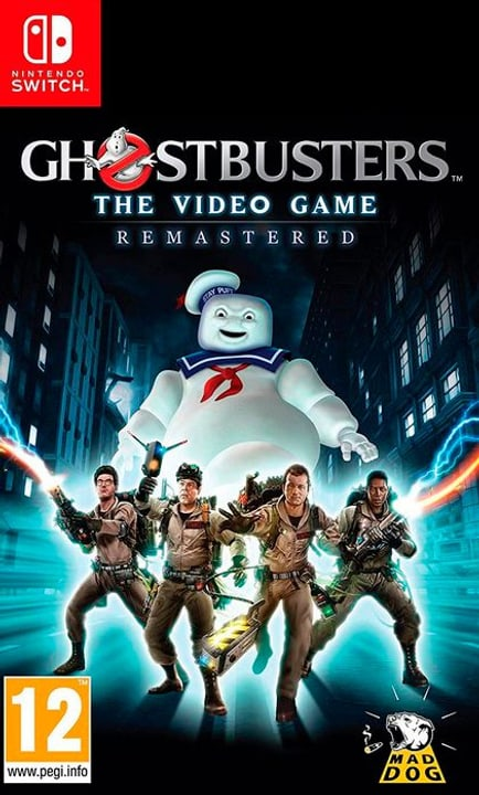 NSW - Ghostbusters: The Video Game Remastered D Box 785300146877 N. figura 1