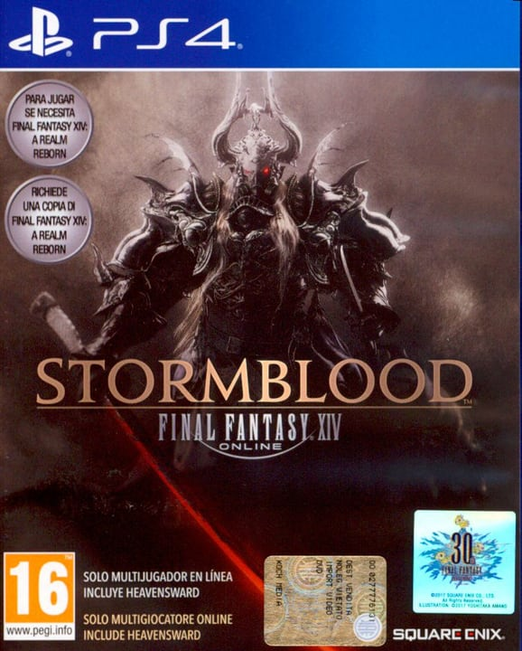 PS4 - Final Fantasy XIV: Stormblood Physique (Box) 785300122329 Photo no. 1