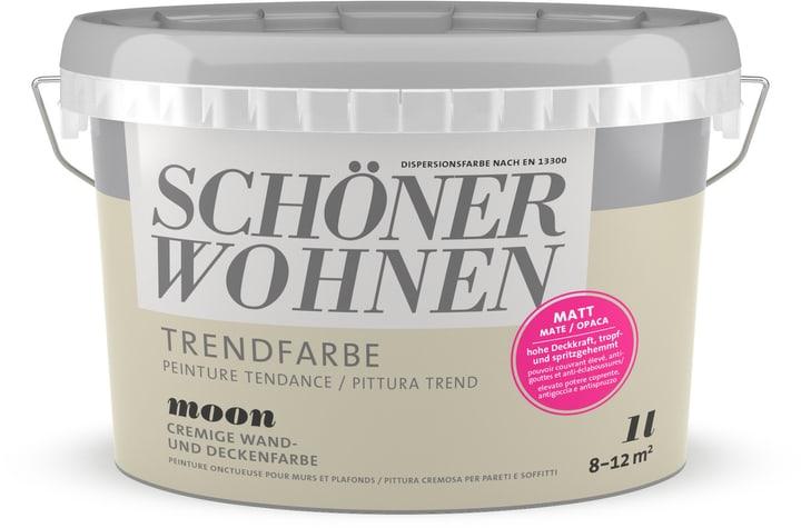 Vernice di tendenza opaca Moon 1 l Schöner Wohnen 660968100000 Colore Moon Contenuto 1.0 l N. figura 1