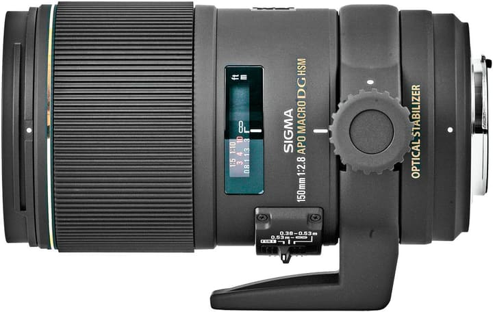 150 mm F2,8 MACRO EX DG APO OS HSM Nikon Obiettivo Sigma 785300135359 N. figura 1