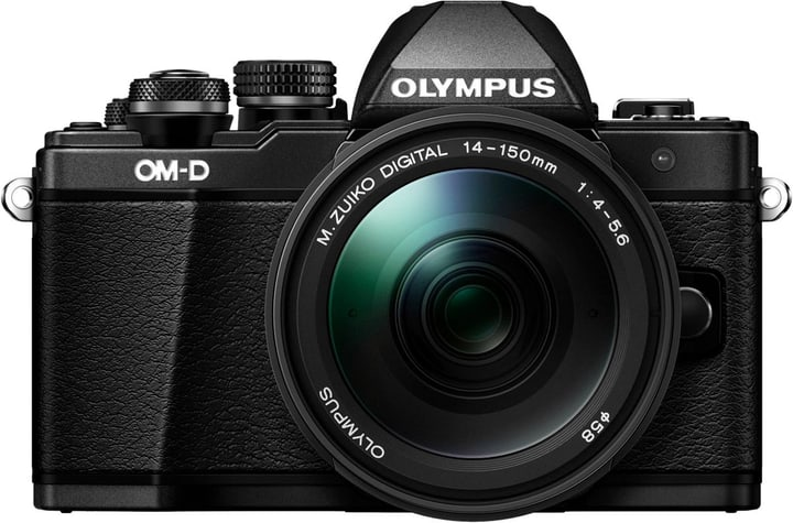 E-M10II 14-150 schwarz/schwarz Systemkamera Kit Olympus 785300125795 Bild Nr. 1