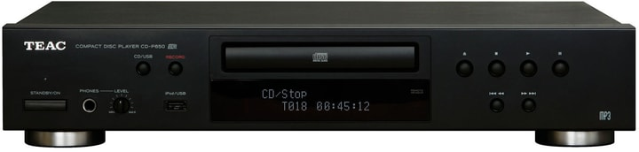 CD-P650 - Nero CD-Player TEAC 785300142006 N. figura 1