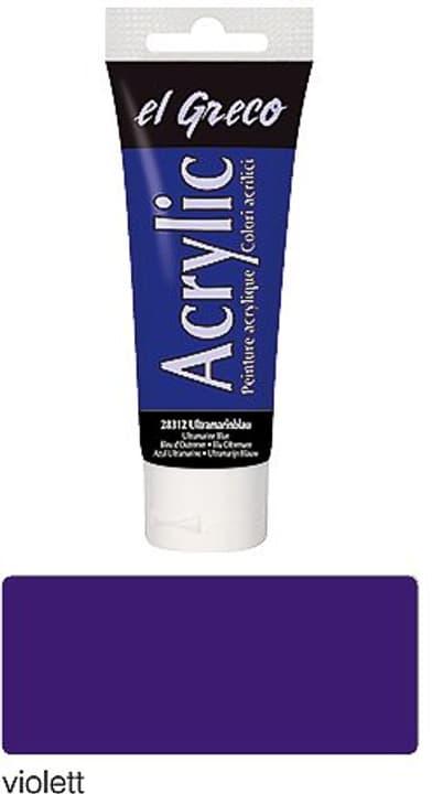el Greco Acrylic 75ml C.Kreul 665488800100 Farbe Violet Photo no. 1