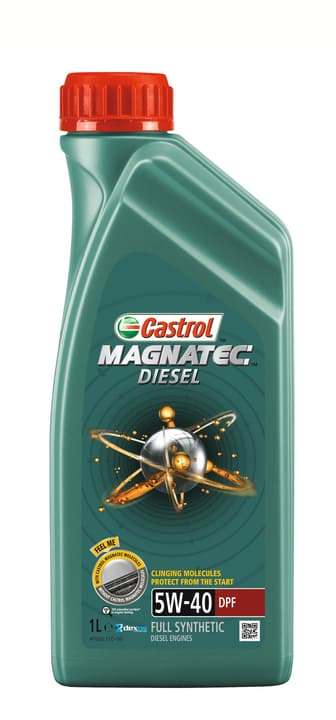 Olio motore Magnatec Diesel DPF 5W-40 1L Castrol 620129600000 N. figura 1