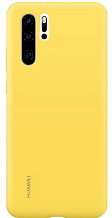 Hard-Cover Silicone Case yellow Hülle Huawei 785300145942 Bild Nr. 1