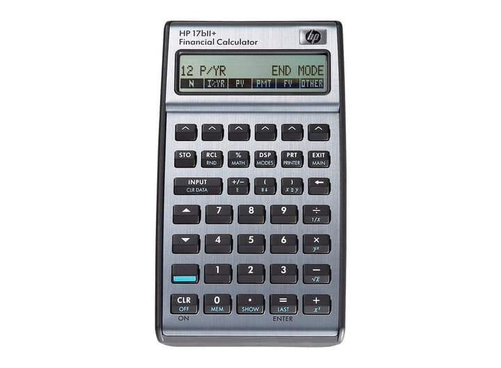 Finanzrechner D/I HP-17BII+ Finanzrechner HP 785300126820 Bild Nr. 1