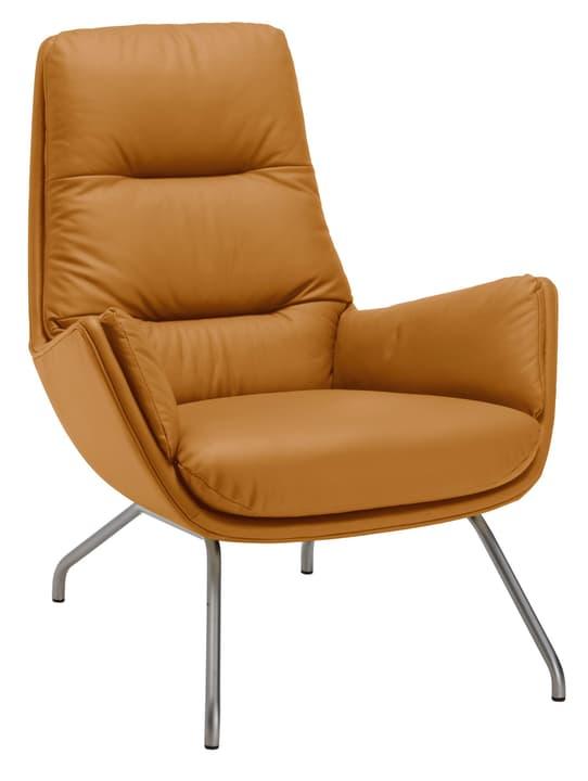 ANDRES Sessel 402452607055 Grösse B: 83.0 cm x T: 87.0 cm x H: 96.0 cm Farbe Cognac Bild Nr. 1