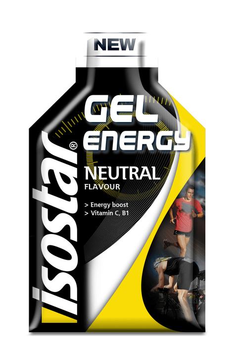 Energy Gel Gel Isostar 471962202920 Couleur noir Goût Neutre
