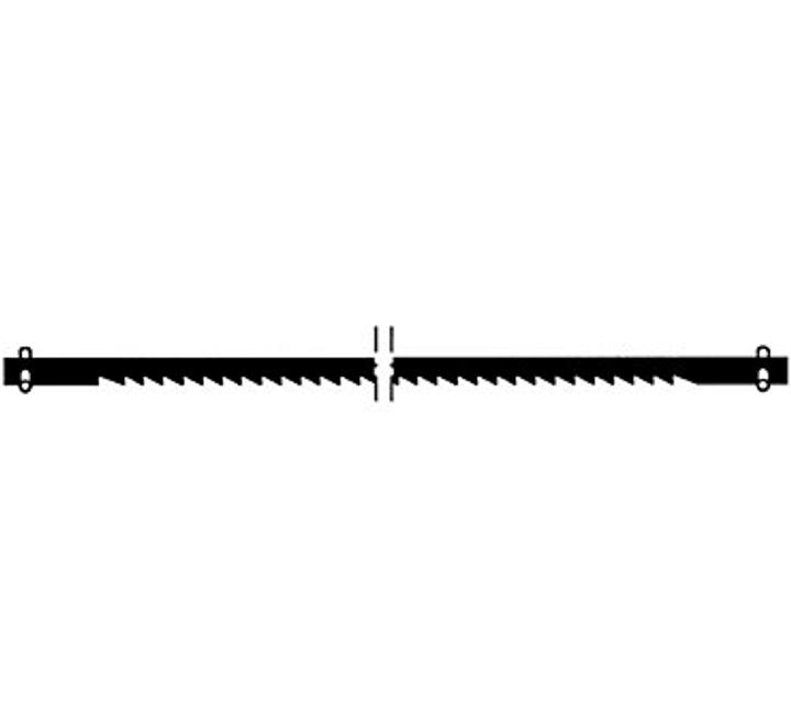 Lama di sega supercut grossa 17Z/25mm Accessori per segare Wolfcraft 616860800000 N. figura 1