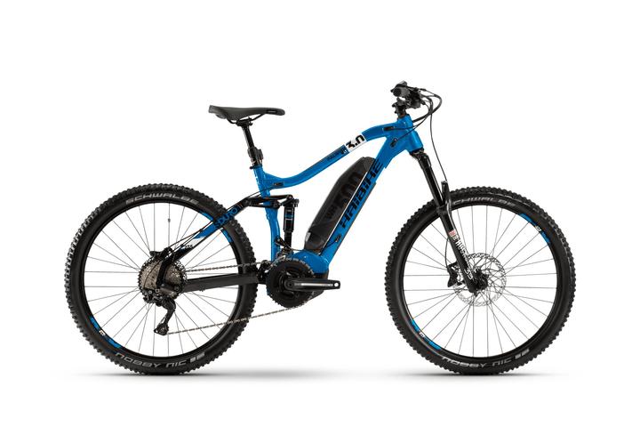 "SDURO FullSeven LT 3.0 27.5"" E-Mountainbike Haibike 464826800440 Farbe blau Rahmengrösse M Bild Nr. 1"
